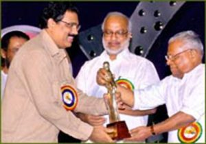 "Kerala State Film Award-2007 for best Documentary ""Before The Brush Dropped""."